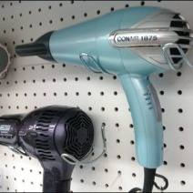 Curved Hair Dryer Hook