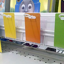 Color-Coded Gift Card Backtags