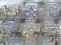 Brushed-Metal Jewelry Display