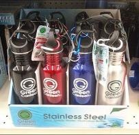 On-Shelf Water Bottle Display