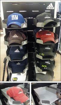 Branded Slot-Mount Hat Tray