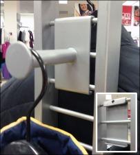 Ladder-from-Grid Crossover Hook