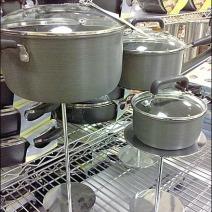 Cookware On Pedestal