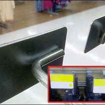 Two Metal Plate Holder Scan Hook Styles