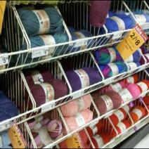 Yarn Skeins In Endless Basket