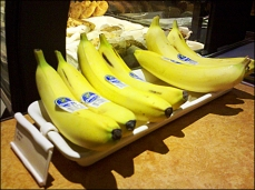 Banana Cashwrap Tray with Label Holder