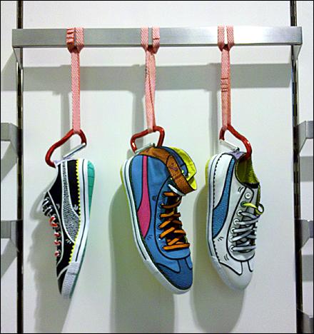 Bringing Cartoon Sneakers to Life