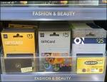 Gift Card Shelf Unit