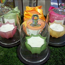 Bell Jars for Candles