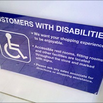 Customers With Disabilities Policy