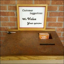 Customer Suggestion Station