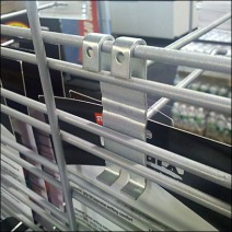 Grid Hook on Slatwire Detail