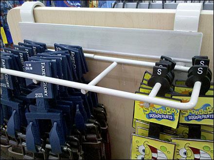 Guarded Saddle-Mount Multi-Hook for Belts