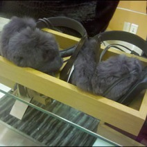 Winter Earmuffs on Summer Sale