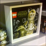 Freestanding Lego T-Shirt Shadowbox