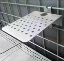 Wire Grid Mini Shelf Details