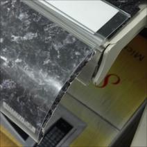 Marble Shelf Paper Bullnose Detail