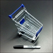 Micro Desktop Shopping Cart
