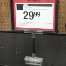 Customizablr Magnetic Sign Holder Main