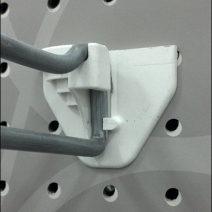 )versize Straight Entry Backplate CloseUp