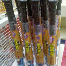 Baseball Bat Candy POP Corrugated Display