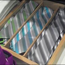 Ties in Wood Tray Main