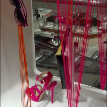 Visual Merchandising With String