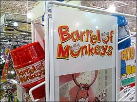 Barrel of Monkeys Gravity Feed Main
