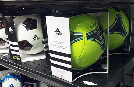 Adidas Redesigns Soccer Sales On Shelf