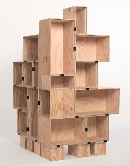 Do It Yourself Wood Box Display Fixtures Close Up
