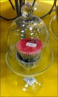Candle Bell Jar Closeup