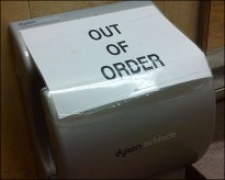 Dyson Airblade Out-of-Order