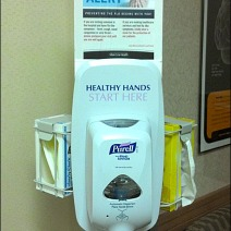 3-Way Sanitizer Station by Purell