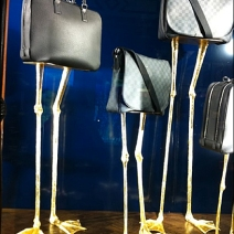 Louis Vuitton Bird Legs Bag Display
