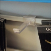 Clear Plastic Jewelry Hook Outfitting