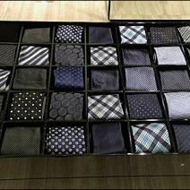 Armani Necktie Periodic Table Detail