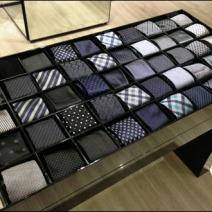 Armani Necktie Periodic Table Display
