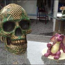 Celtic Skull and Friend