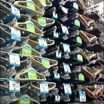 Clothes Hanger Bulk Merchandising Aux