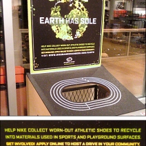 Recycle Shoe Closeup Composite