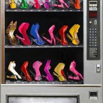 Fashion Shoe Vending Machine for High Heels