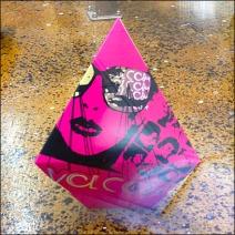 3D Heptrahedra in Hot Pink