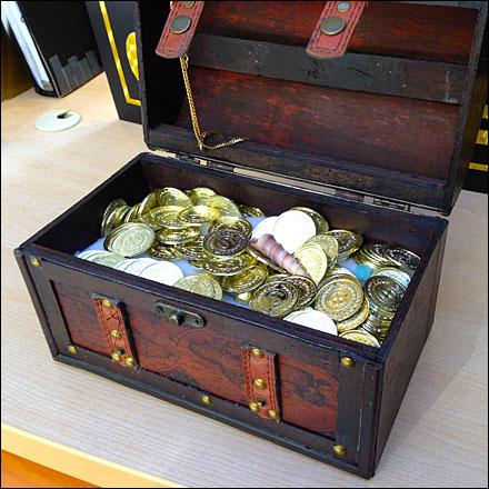Treasure Chest Chocolate Boxes