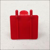 Plastic Back Labeled Hook2 Back