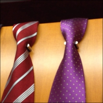 Ties Neck Down Without Knots CloseUp