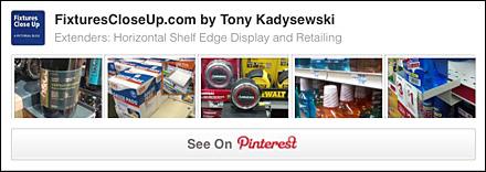 Extenders Horizontal Shelf Edge Pinterest Board