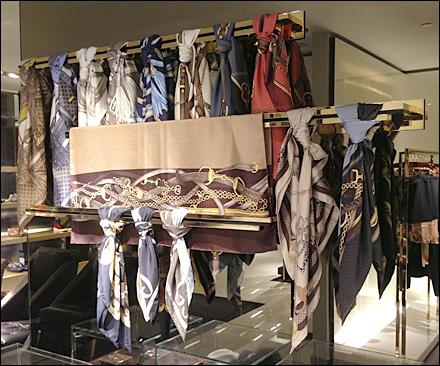 Gucci Scarves on Backbar Main