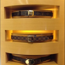 Louis Vuitton Belt Merchandising 2