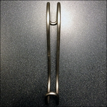 Open S-Hook Front View