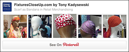 Scarf as Bandana FixturesCloseUp Pinterest Board